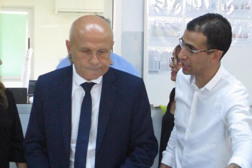 Visite de l'Ambassadeur de France - Ateliers ISA