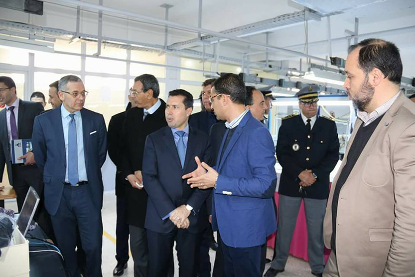 Visit of Ateliers ISA by the Minister of Industry and SME's in Tunisia
